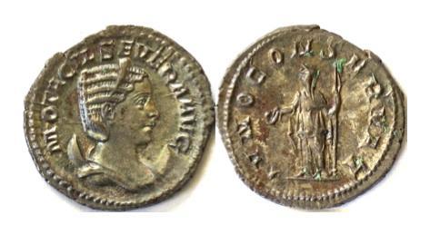 Ancient Coins - OTACILIA SEVERA. AR antonianus. Rome mint. Struck circa AD 245-247