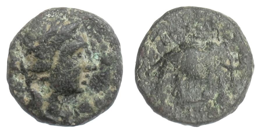Ancient Coins - SELEUKID KINGS, Antiochos III 'the Great'. AE denom. C, Sardes mint. 222-187 BC.
