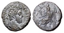 Ancient Coins - COMMODUS, Egypt, Alexandria. BI tetradrachm, dated RY 29 (188/9 AD). Serapis