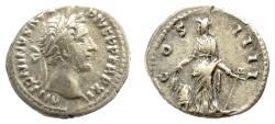 Ancient Coins - ANTONINUS PIUS. AR denarius. Rome mint, struck 147-148 AD