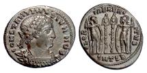 Ancient Coins - CONSTANTINE II. AE follis, Thessalonica mint, 330-333 AD