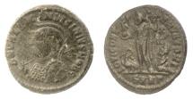Ancient Coins - Licinius II as Caesar. AE follis. Heraclea mint, struck AD 321-324. Jupiter