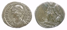 Ancient Coins - Constantinople City Commemorative. AE Follis, Heraclea Mint 330-333 AD