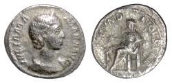 Ancient Coins - JULIA MAMAEA. AR Denarius, Rome mint. Fecunditas
