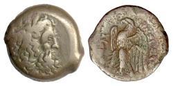 Ancient Coins - EGYPT, Ptolemy II Philadelphos. AE diobol, 285-246 BC