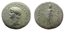 Ancient Coins - NERO. THRACE, Perinthus. AE 33,  Struck circa AD 59-63. SCARCE