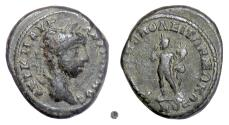 Ancient Coins - Elagabalus, THRACE, Philippopolis. AE 18, 218-222 AD. Harpokrates, god of secrets