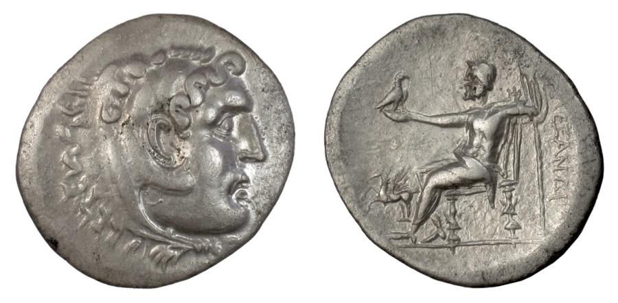 Ancient Coins - Alexander III 'the Great'. CARIA, Alabanda, AR tetradrachm. Dated CY 5 (169/8 BC)