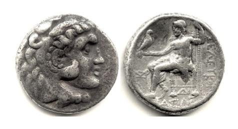 Ancient Coins - SELEUKID KINGS of SYRIA, Seleukos I Nikator. AR Tetradrachm. Seleukeia on the Tigris mint I. Struck circa 300-281 BC