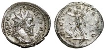 Ancient Coins - POSTUMUS AR Antoninianus. EF-/VF+. VICTORIA AVG. Colonia Agrippina mint.