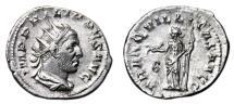 Ancient Coins - PHILIP I the Arab AR Antoninianus. EF-. TRANQVILLITAS AVG.