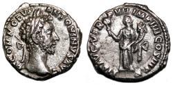 Ancient Coins - COMMODUS AR Denarius. EF/EF-. Liberalitas - LIB AVG V TR P VII IMP IIII COS III P P.