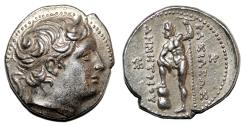 Ancient Coins - DEMETRIOS I POLIORKETES AR Tetradrachm. EF. Pella mint. Poseidon Pelagios. VERY RARE.