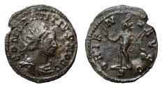 Ancient Coins - CONSTANTIUS I CHLORUS Bi Antoninianus. VF+. Lugdunum mint. ORIENS AVGG. Scarce!