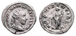Ancient Coins - GORDIAN III AR Antoninianus. EF/EF-. PROVIDENTIA AVG.