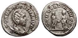 Ancient Coins - SALONINA AR Antoninianus. Samosata mint. VF+. CONCORDIA AVGG.