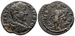 Ancient Coins - MAGNESIA AD MAEANDRUM (Ionia) AE20. Severus Alexander. EF-/VF+. Tyche.