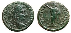 Ancient Coins - CARACALLA AE30. VF+. Serdica mint. Serapis in reverse.