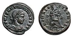 Ancient Coins - CONSTANTINE II AE3 (Centenonial). EF/EF+. Rome mint. ROMAE AETERNAE.