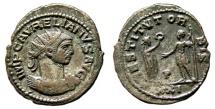 Ancient Coins - AURELIAN AE Antoninianus. VF+. Antioch mint. RESTITVT ORBIS.