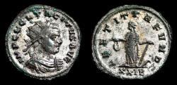 Ancient Coins - TACITUS Bi Antoninianus. EF-. SILVERED. Rome mint. LAETITIA FVND XXIB.
