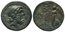 Ancient Coins - ELAIOUSSA-SEBASTE (Cilicia) AE20. EF-. 1st Century BC. Zeus - Nike.
