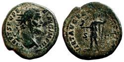 Ancient Coins - SEPTIMIUS SEVERUS AE Dupondius. VF/VF-. Virtus. AD 194. SCARCE!