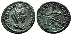 Ancient Coins - MARKIANOPOLIS (Moesia Inferior) AE18. EF+/EF. 3rd Century AD. Tyche-Kybele.