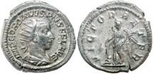 Ancient Coins - GORDIANUS III AR Antoninianus. EF. VICTOR AETER. (3,8 g)