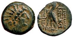 Ancient Coins - ANTIOCHOS VIII GRYPOS AE19. VF+/EF. Antioch mint. 121-120 BC.