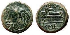 Ancient Coins - OLBIA (Skythia) AE22. EF-/EF. River god Borysthenes.
