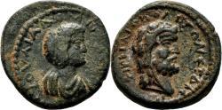 Ancient Coins - IRENOPOLIS-NERONIAS (Cilicia) AE23. Julia Domna. VF+/EF-. Herakles.