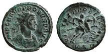 Ancient Coins - PROBUS AE Antoninianus. EF-/EF. Serdica mint. VIRTVS PROBI AVG - KAgamma. Scarce and Very Nice.