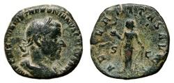 Ancient Coins - TREBONIANUS GALLUS AE Sestertius. VF. AETERNITAS AVGG. Scarce