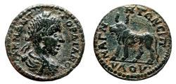 Ancient Coins - GORDIAN III AE22. VF+/EF-. Magnesia ad Sypilum mint (Lydia). Bull.