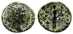 Ancient Coins - ANTONINUS PIUS AE Dupondius. VF+/VF. SALVS AVG.