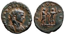 Ancient Coins - AURELIAN AE Antoninianus. EF. Serdica mint. IOVI CONSER.