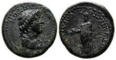 Ancient Coins - SARDES (Lydia) AE18. Pseudo-autonomous issue. EF-. AD 54-68. Senate.