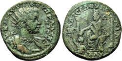 Ancient Coins - SELEUCIA AD CALYCADNUM (Cilicia) AE29. Severus Alexander. VF. Tyche.