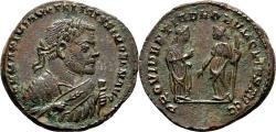 Ancient Coins - MAXIMIANUS HERCULIUS AE Follis. EF. Londinium mint. 1st Abdication Issue.
