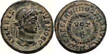 Ancient Coins - CRISPUS AE3 (Centenonial). EF-. Siscia mint. VOT X - Wreath.
