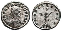 Ancient Coins - PROBUS Antoninianus. EF+. FULLY SILVERED. Siscia mint. PROVIDENTIA AVG.