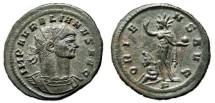 Ancient Coins - AURELIAN Bi Antoninianus. EF. Mediolanum mint. ORIENS AVG. Superb!!!