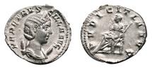 Ancient Coins - HERENNIA ETRUSCILLA AR Antoninianus. EF+/EF. PVDICITIA AVG.