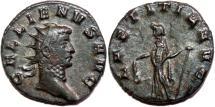 Ancient Coins - GALLIENUS AE Antoninianus. EF-. Mediolanum mint. LAETITIA AVG