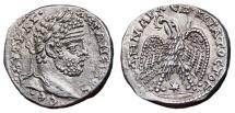 Ancient Coins - CARACALLA AR Tetradrachm. EF/EF+. Laodicea ad Mare mint. 3rd Consulate. SUPERB!