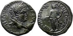 Ancient Coins - NICOMEDIA (Bithynia) AE30. Caracalla. EF-. Homonoia in reverse.