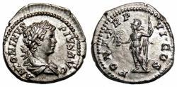 Ancient Coins - CARACALLA AR Denarius. EF+. Roma - PONT TR P VI COS.