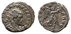 Ancient Coins - CLAUDIUS II GOTHICUS Antoninianus. EF-/EF. Mediolanum mint. VICTORIA AVG. Excellent!
