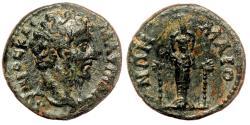 Ancient Coins - MAEONIA (Lydia) AE17. Marcus Aurelius (as Caesar). VF+/EF-. Artemis Ephesia.